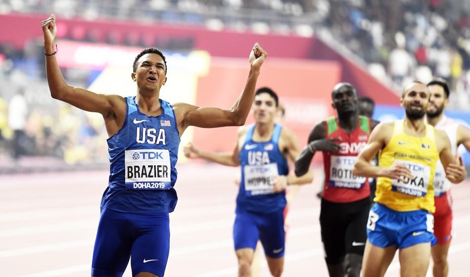 Donavan Brazier keen to prove that 2019 was no fluke - AW