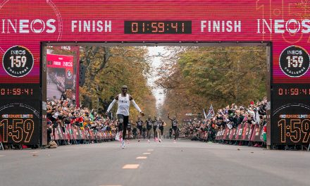 Eliud Kipchoge runs sub-two-hour marathon