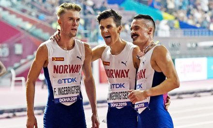 Team Ingebrigtsen vs Team Cheruiyot in 'Impossible Games' 2000m