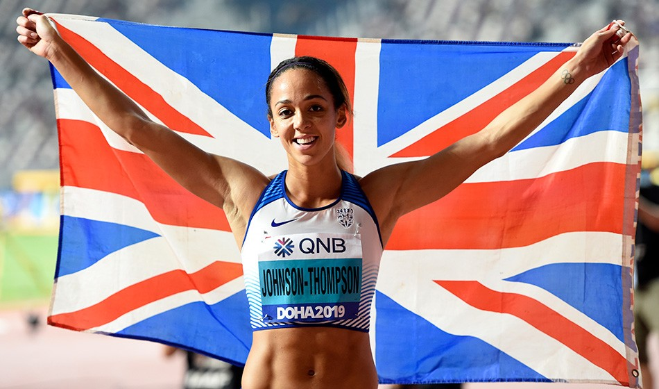 Golden moment for Katarina Johnson-Thompson