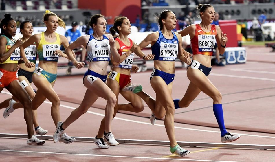 Brits progress as Laura Muir makes injury comeback in Doha