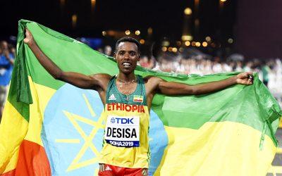 Ethiopian marathon one-two as Callum Hawkins is fighting fourth