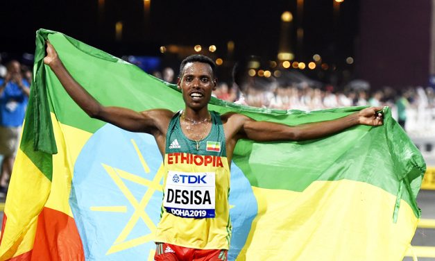 Ethiopian marathon one-two as Callum Hawkins is fighting fourth