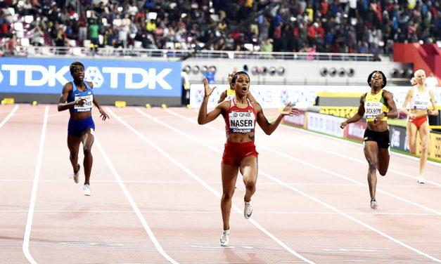 Salwa Eid Naser stuns Shaunae Miller-Uibo in world 400m