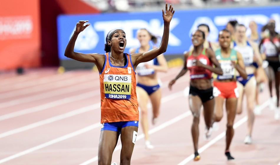 Sifan Hassan scorches her way to extraordinary 1500m victory