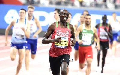 Dominant Timothy Cheruiyot front runs his way to 1500m gold