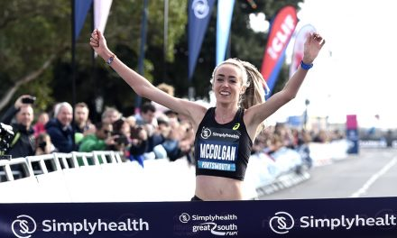 Eilish McColgan and Marc Scott win Great South Run