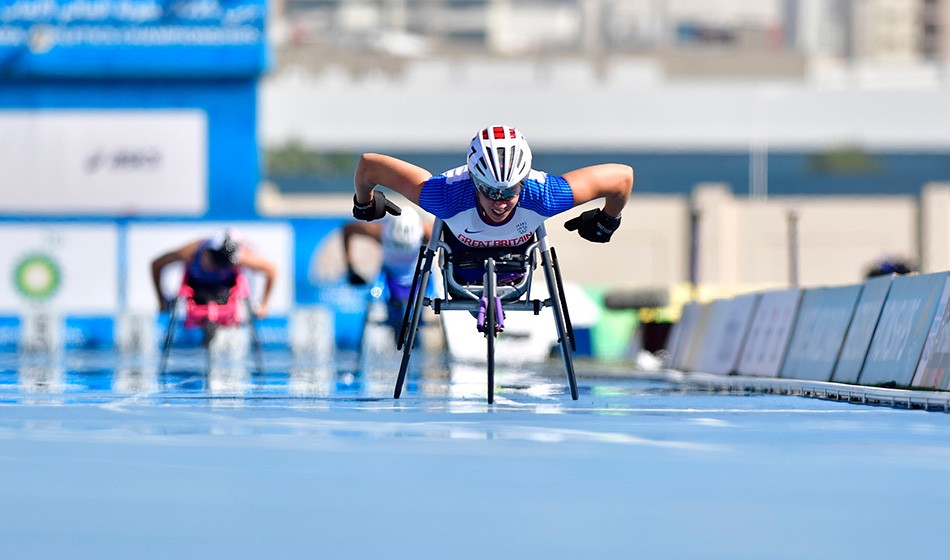 One-two for Hannah Cockroft and Kare Adenegan in Dubai