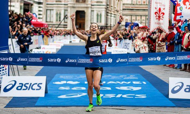 Jess Piasecki storms to 2:25:29 Florence Marathon win