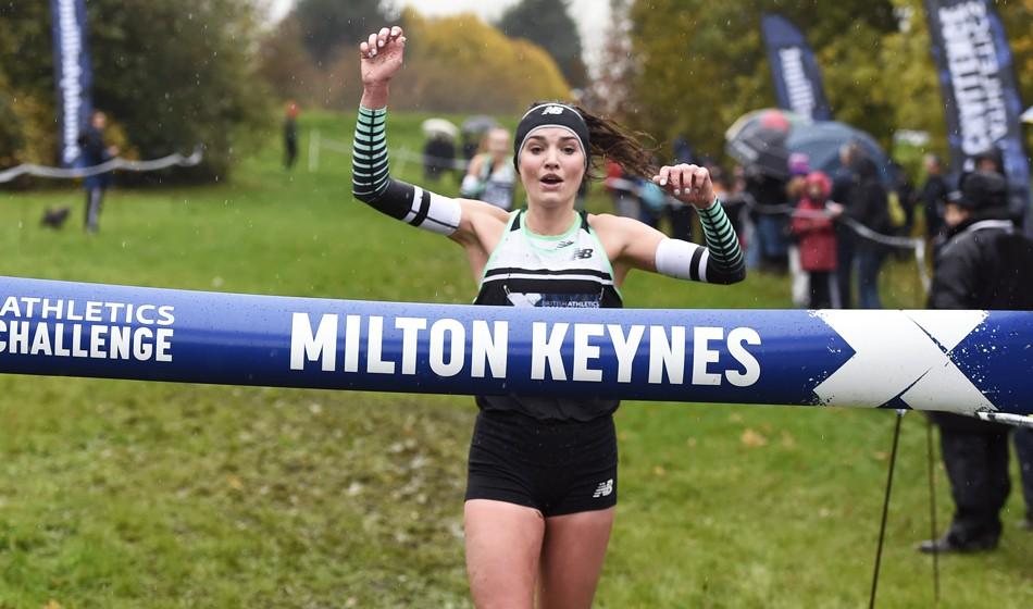 Kate Avery and Mahamed Mahamed win Milton Keynes Cross Challenge