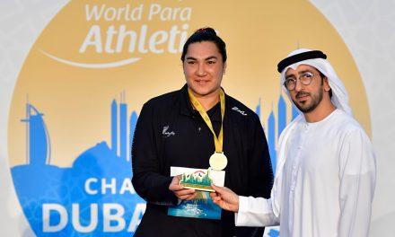 Lisa Adams wins world gold for more family shot put success