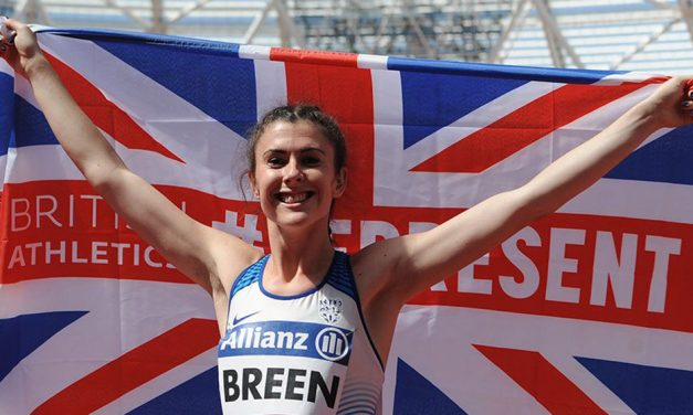 Olivia Breen leaps to bronze in Dubai