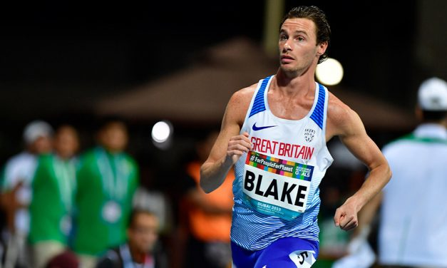 Paul Blake wins world 800m gold for GB in Dubai