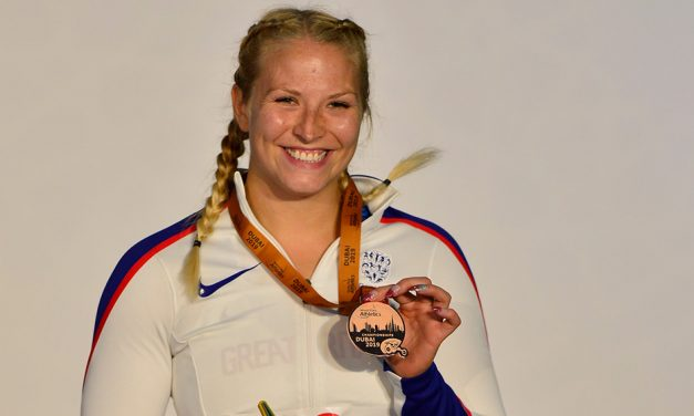 Bronze for Sammi Kinghorn at World Para Athletics Champs