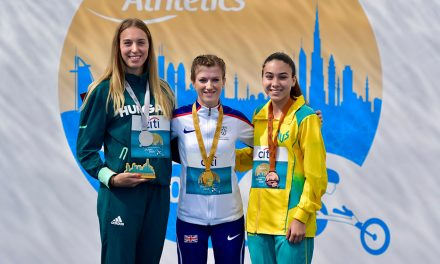 Sophie Hahn seals sprint double in Dubai