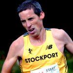 Andrew Davies on his British M40 marathon record