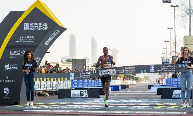 Pacemaker wins Abu Dhabi Marathon – weekly round-up