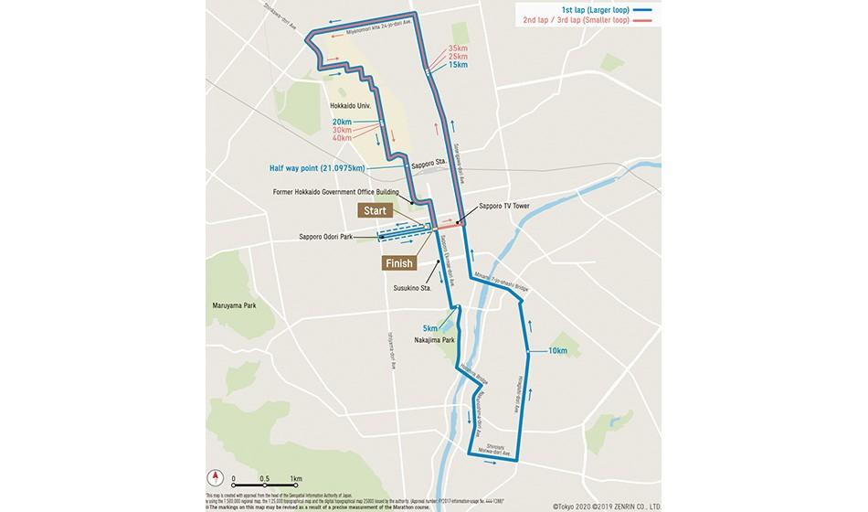 New Sapporo Olympic marathon course announced