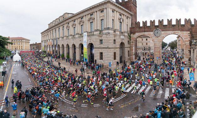 Verona Marathon's running romance