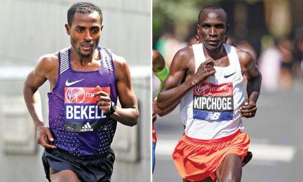 Kenenisa Bekele to take on Eliud Kipchoge at London Marathon