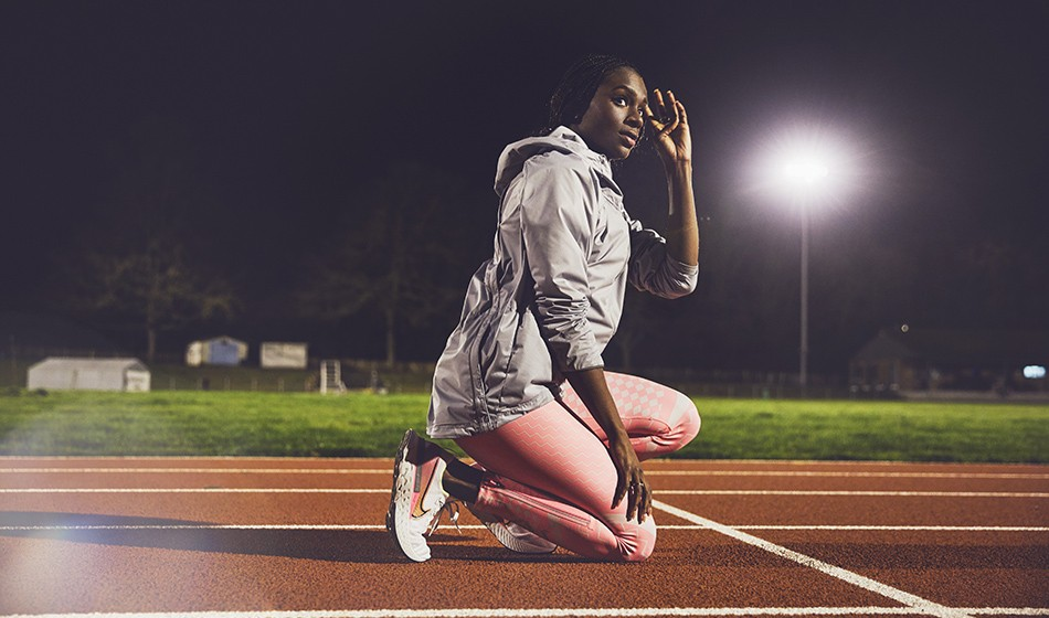 Dina Asher-Smith's winter grind