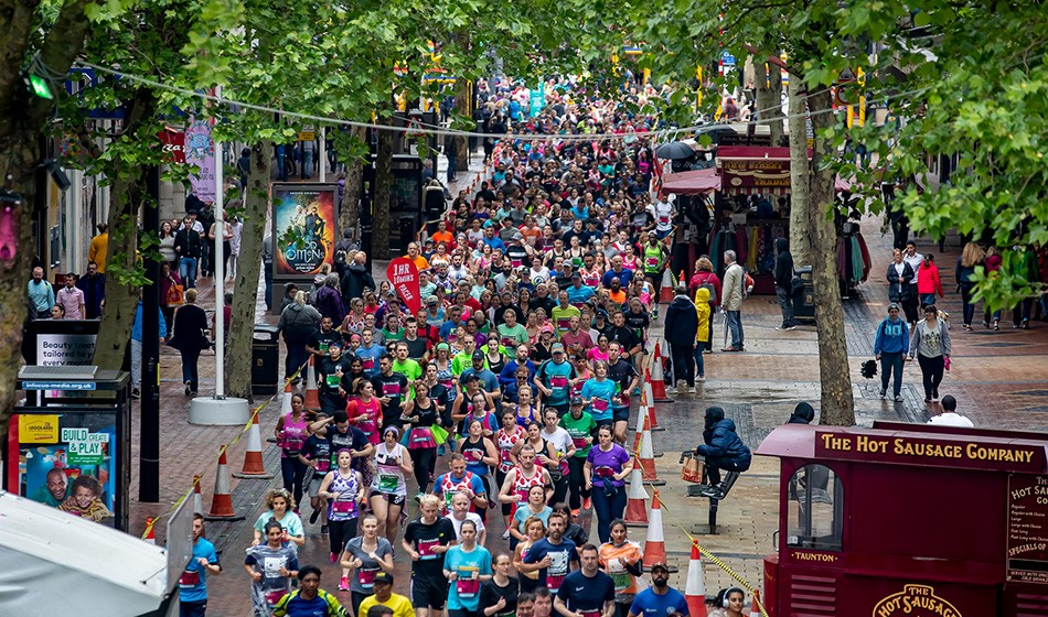 New city centre route revealed for Great Birmingham 10K