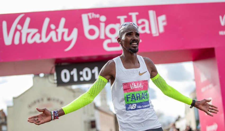 Mo Farah to race Kenenisa Bekele at The Vitality Big Half