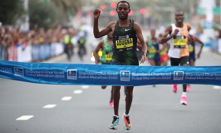 Olika Adugna wins historic men's marathon as Worknesh Degefa takes title No.2 in Dubai