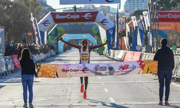 Rhonex Kipruto breaks world 10km record in Valencia