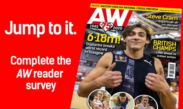 AW 2020 reader survey