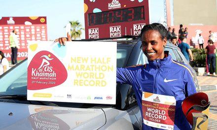 Ababel Yeshaneh smashes world half-marathon record in Ras Al Khaimah