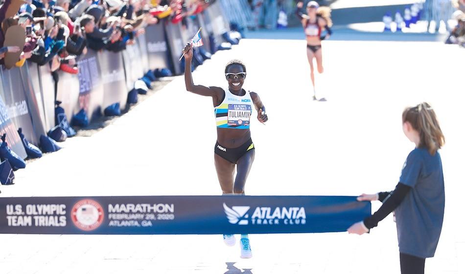 Galen Rupp and Aliphine Tuliamuk win US Olympic marathon trials