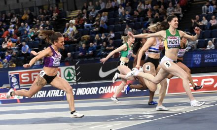 Amy Hunt sprints into senior spotlight with UK 60m win