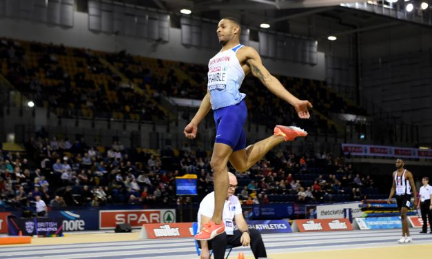 Dan Bramble goes fourth with another British indoor title