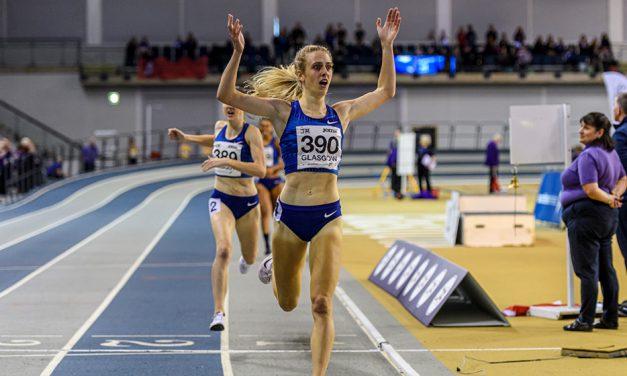 Jemma Reekie breaks British indoor 800m record in Glasgow