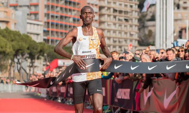 Joshua Cheptegei smashes world 5km record in Monaco