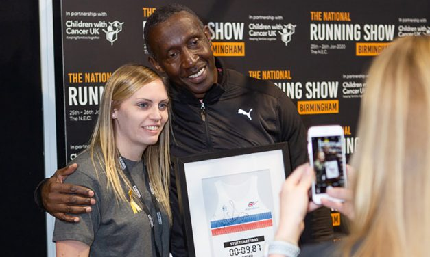 Linford Christie wants his 100m record to fall