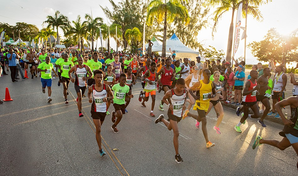 The rise of running in Barbados