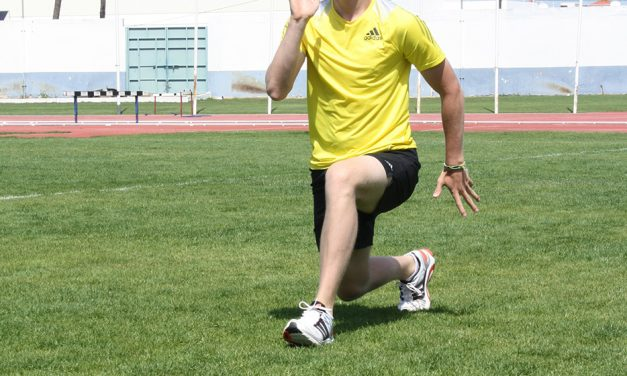 Exercise focus – travelling lunge