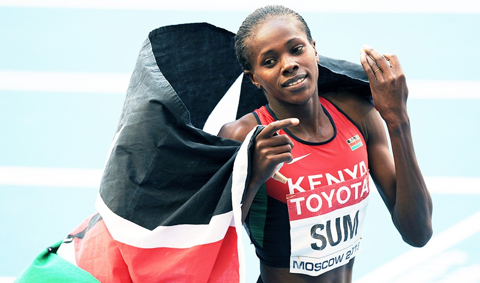 Coping with the coronavirus: Eunice Sum on athlete life in Kenya