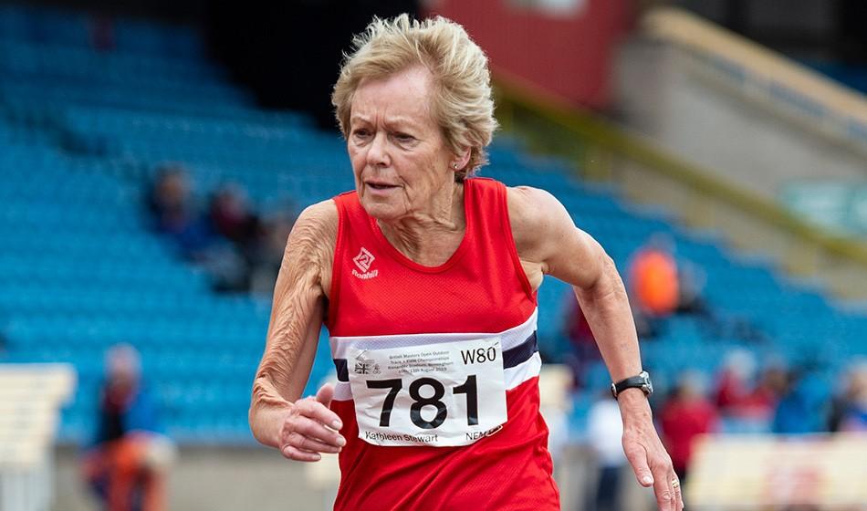 Kathleen Stewart breaks world record at British Masters Championships