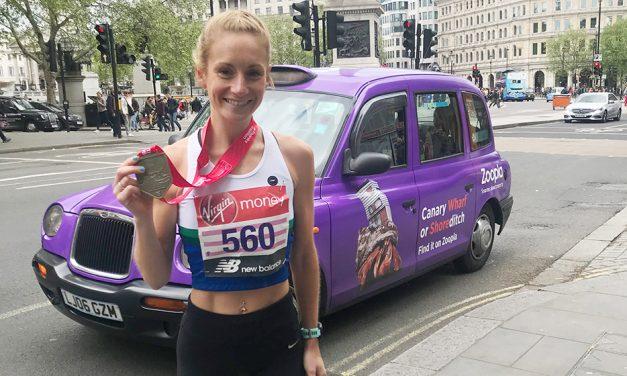 Stephanie Davis, making big strides in a short time