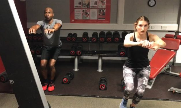 Exercise focus – single leg bodyweight squat