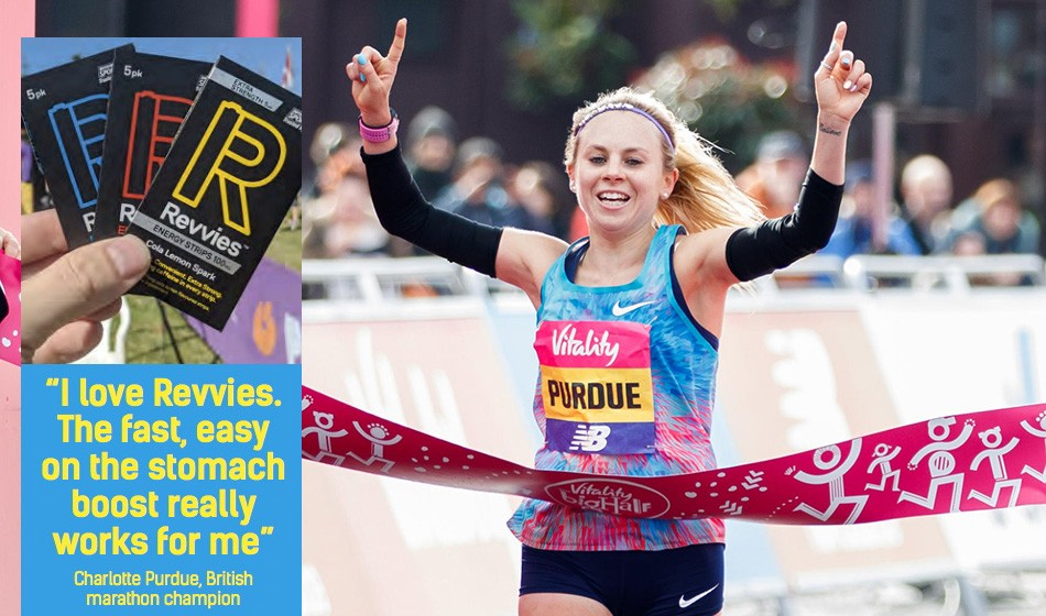Revvies: An instant boost for runners