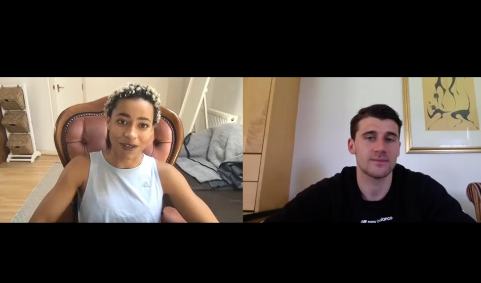 Jazmin Sawyers and Guy Learmonth: Life in Lockdown