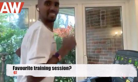 Kilometre quick-fire questions with Mo Farah