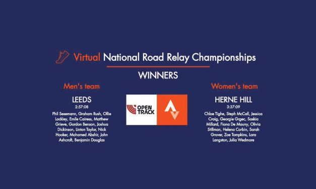 Leeds City and Herne Hill win Virtual National Road Relays