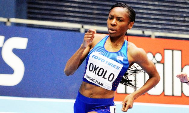 Coping with the coronavirus: Training is Courtney Okolo's motivation