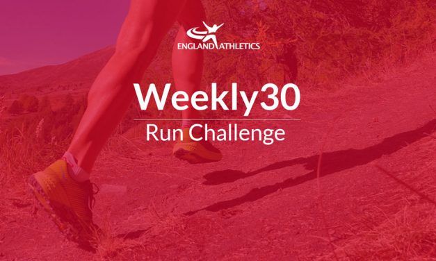 England Athletics launches Weekly30 Run Challenge