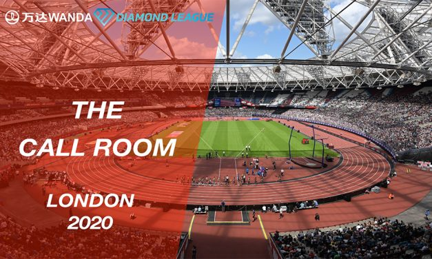 Wanda Diamond League Call Room: London 2020